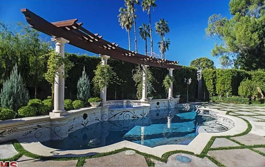 11,500 Square Foot Mediterranean New Build In Beverly Hills, CA Available For Rent