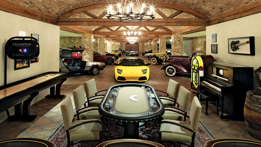 ultimate man cave garage - photo #37