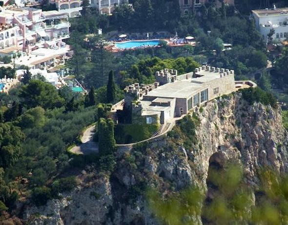 Via Del Castiglione – A $44 Million Castle In Capri, Italy