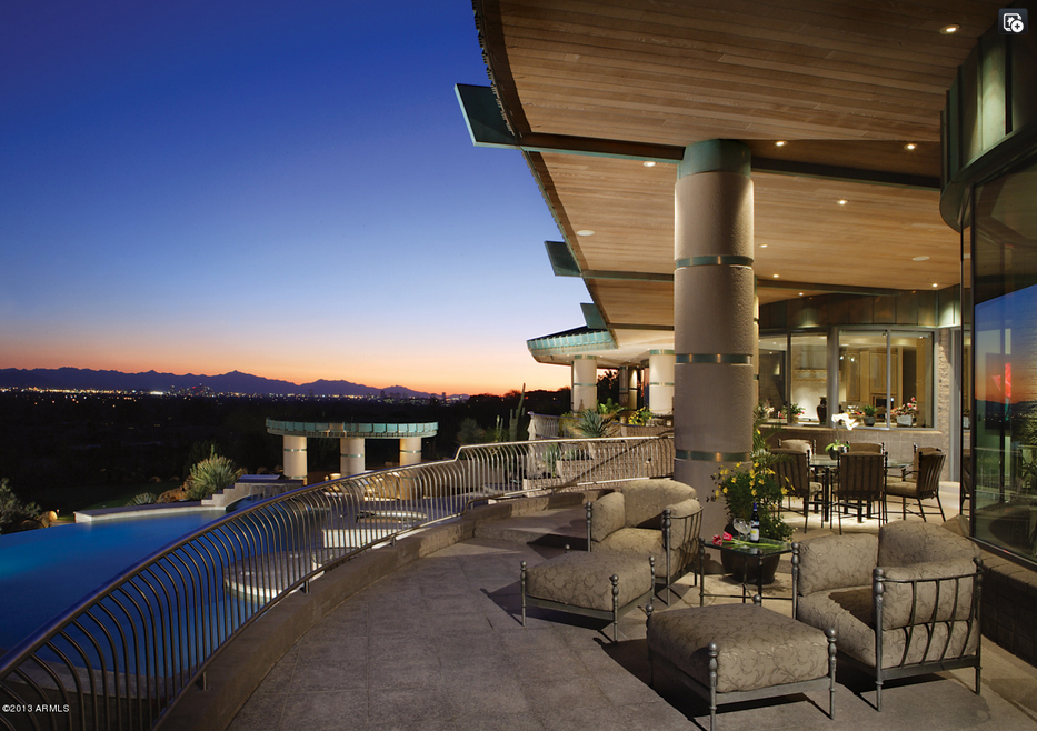 9,000 Square Foot Contemporary Style Mansion In Paradise Valley, AZ