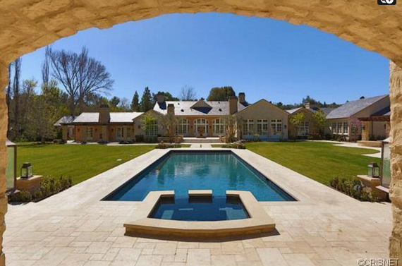 $21.95 Million Newly Built French Country Mansion In Hidden Hills, CA