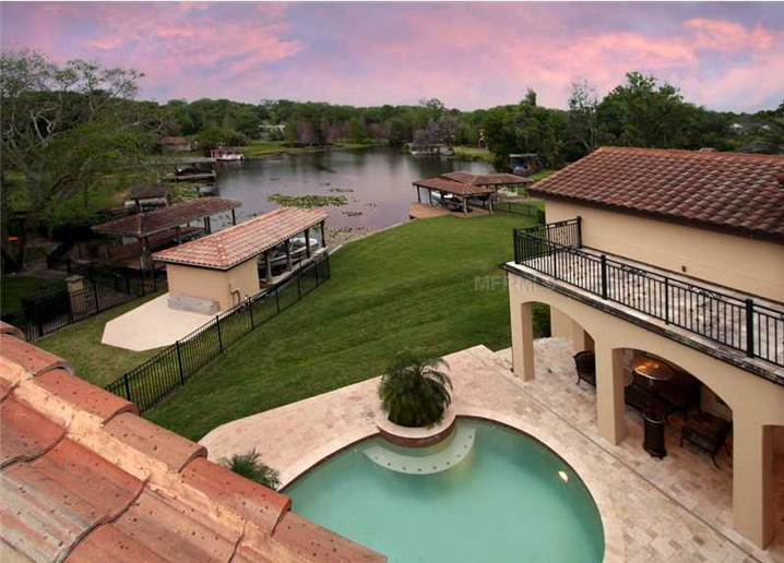 Spanish/Mediterranean Style Lakefront Home In Winter Park, FL