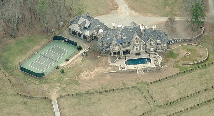 5 5 Million European Inspired Stone Mansion In Cumming
