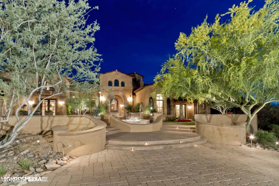6 695 Million Tuscan Home In Scottsdale Az Homes Of