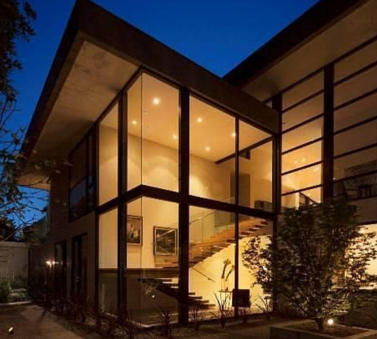 Modern Homes Los Angeles California: $13.5 Million Newly Built Modern Mansion In Los Angeles