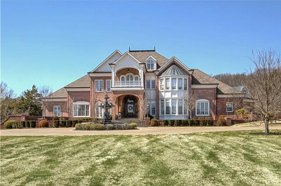 12 million brick mansion in nashville tn homes of the rich for Nashville tn house plans