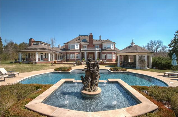 $12 Million Brick Mansion In Nashville, TN | Homes of the Rich