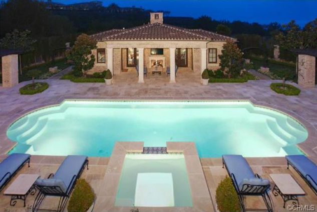 $15.9 Million Newly Built Brick Mansion In Newport Coast, CA