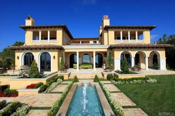 $16.25 Million Mediterranean Mansion In Newport Coast, CA