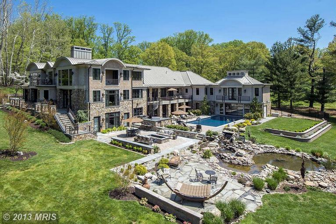 11,000 Square Foot Mansion On 4 Acres In Rockville, MD