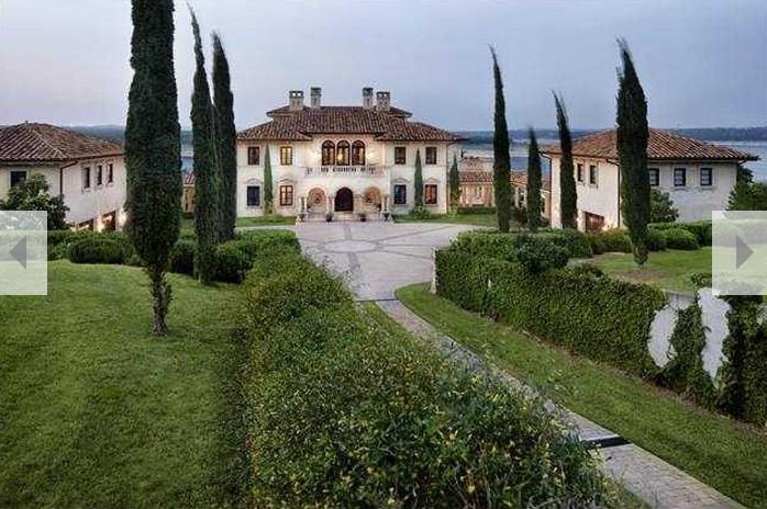 Villa Rotunda - An Italian Inspired Waterfront Mansion In ...
