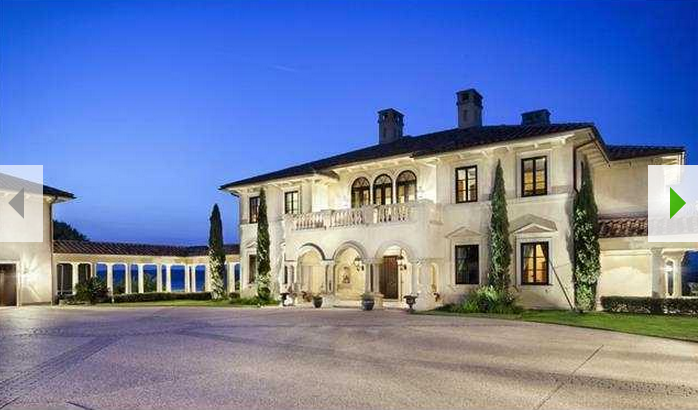 villa rotunda an italian inspired waterfront mansion in austin tx homes of the rich