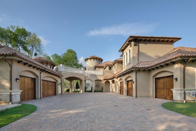 Stunning mediterranean mansion in houston tx homes of for Mega motors houston tx