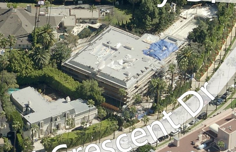 Updated Bird S Eye View Of Beverly Hills Ca Homes Of