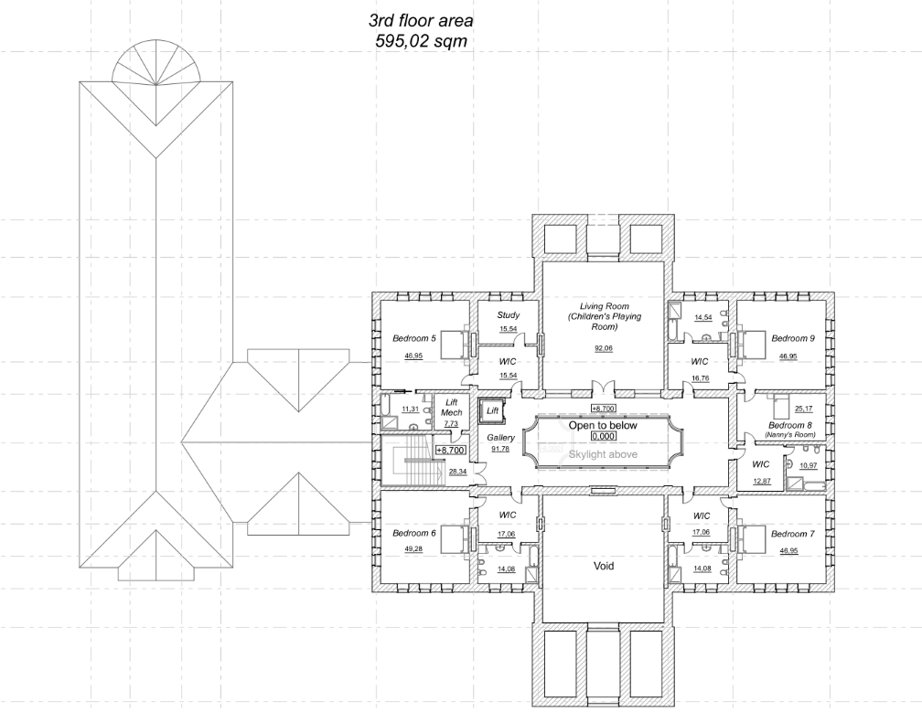 A Homes of the Rich Readers 42000 Square Foot Mega Mansion Design – Floor Plans For Square Homes