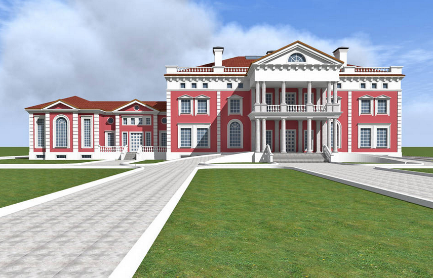 A homes of the rich reader s 42 000 square foot mega for Mega house plans