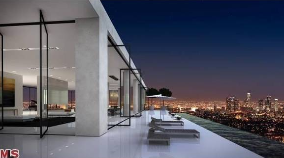 25 000 square foot penthouse in los angeles on the market