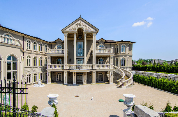 Stately Amp Ornate 24 000 Square Foot Mega Mansion In Canada