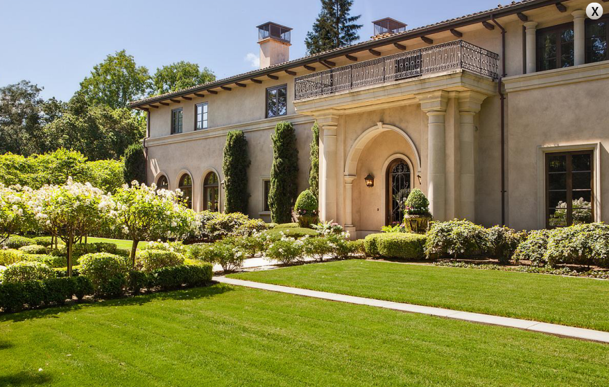 25 Million Italianate Mansion In Atherton Ca Homes Of