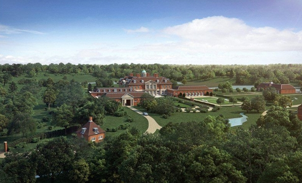 Nutbourne Park - A 212 Acre Country Estate In England With Proposed Robert Adam Designed Mega Mansion