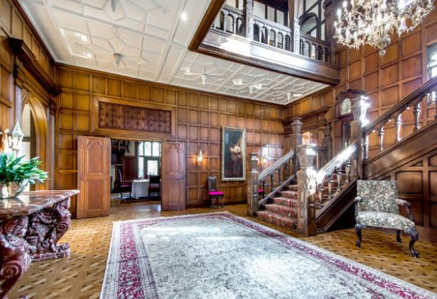 30 000 Square Foot Tudor Mansion In Los Altos Hills Ca Re