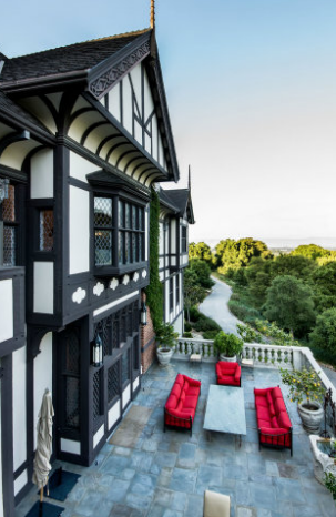 30,000 Square Foot Tudor Mansion In Los Altos Hills, CA Re-Listed