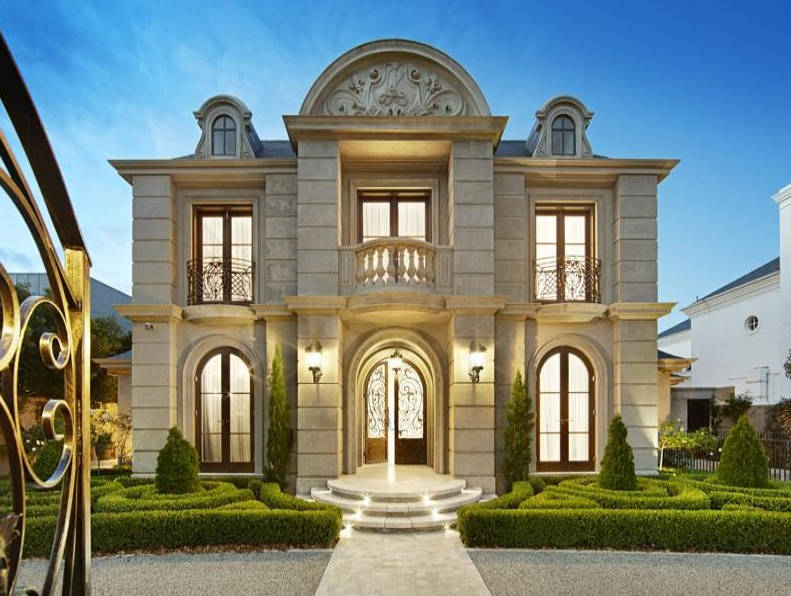 Newly listed european style mansion in victoria australia for European estate house plans