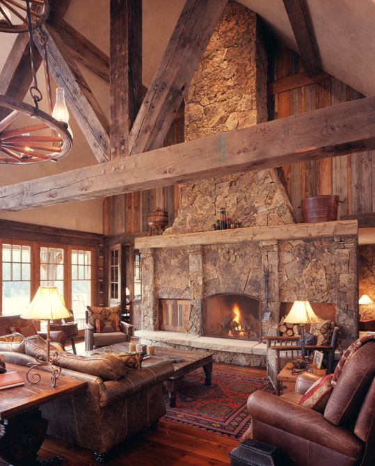 A Look At Some Amazing Fireplaces Homes Of The Rich