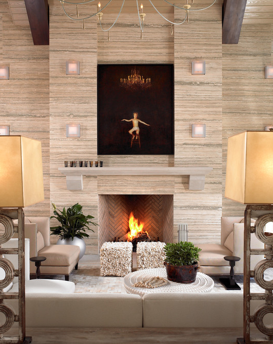 A Look At Some Amazing Fireplaces