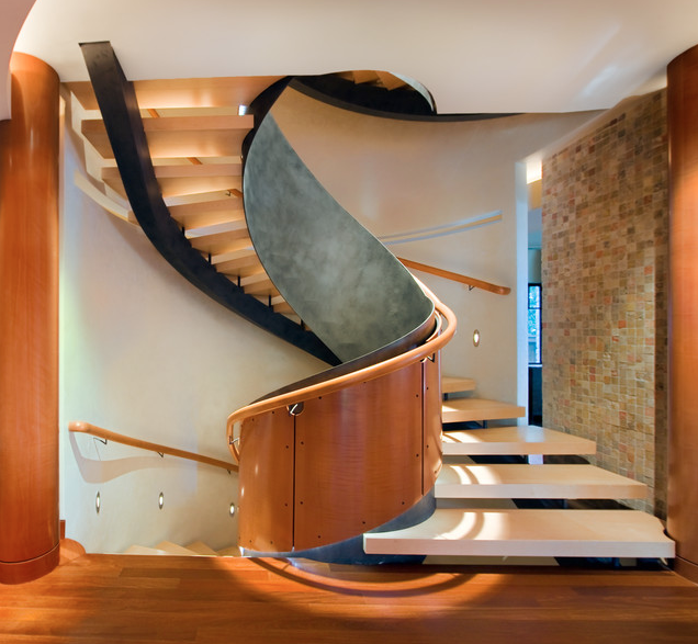 A Look At Some Amazing Spiral Staircases