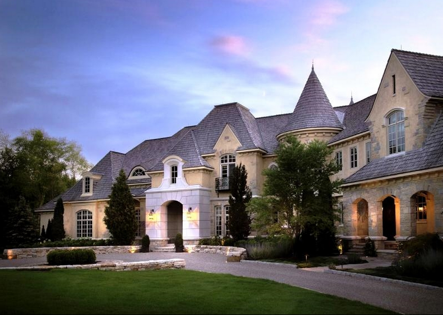 32 000 Square Foot European Inspired Mega Mansion In