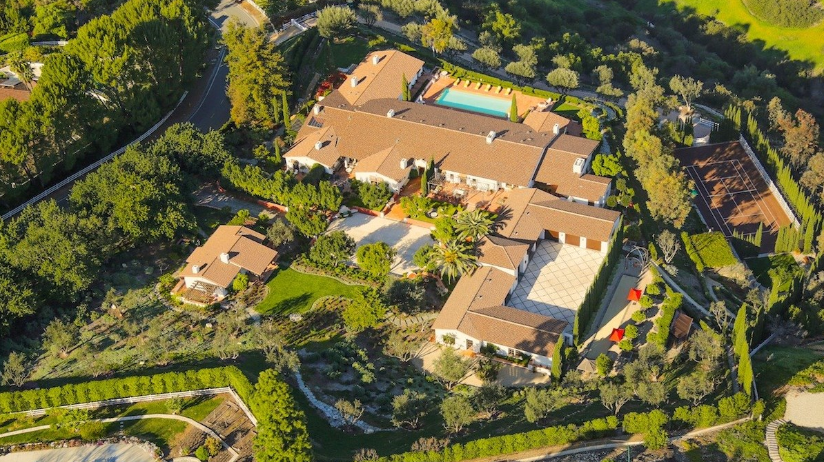 Jawdropping 50,000 Square Foot Mega Mansion In Rolling Hills