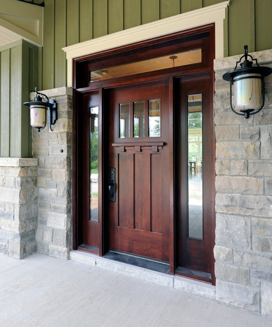 A Look At Some Beautiful Front Doors From Houzz.com | Homes of the Rich