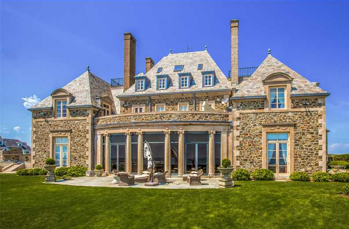 Seafair a historic 19 million waterfront estate in for Home builders in ri
