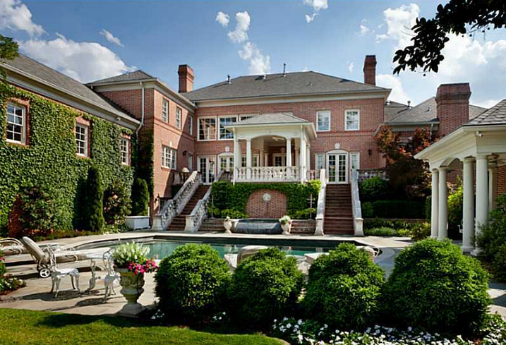 Newly Listed $3.9 Million Brick Mansion In Atlanta, GA