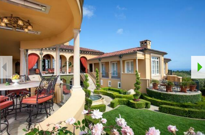 $11.9 Million Newly Listed Mediterranean Mansion In Newport Coast, CA