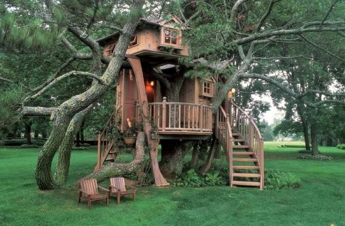 A Look At Some Treehouses From Houzz.com
