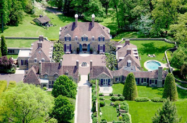 Linden Hill A 24 5 Million Historic Estate In Gladwyne Pa Homes Of The Rich