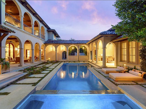 $6.4 Million Mediterranean Home In Highland Park, TX