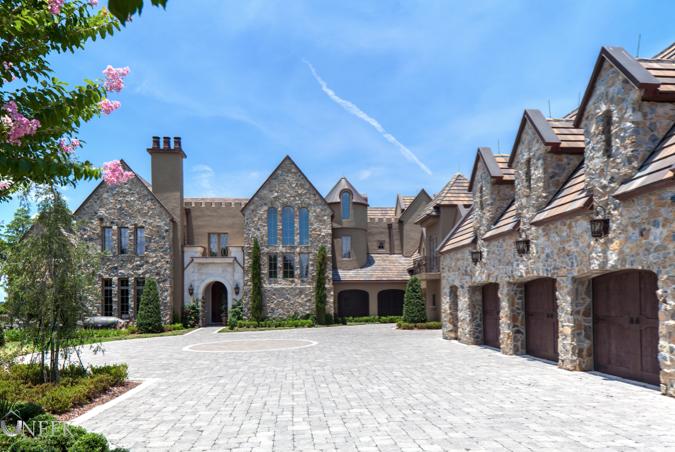 8 9 Million European Inspired Stone Mansion In Windermere