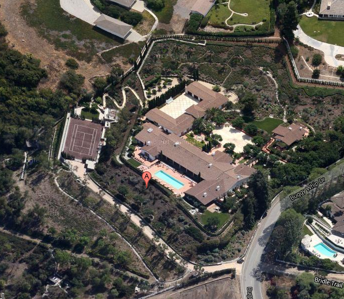 Jawdropping 50,000 Square Foot Mega Mansion In Rolling Hills, CA With 5 Subterranean Floors