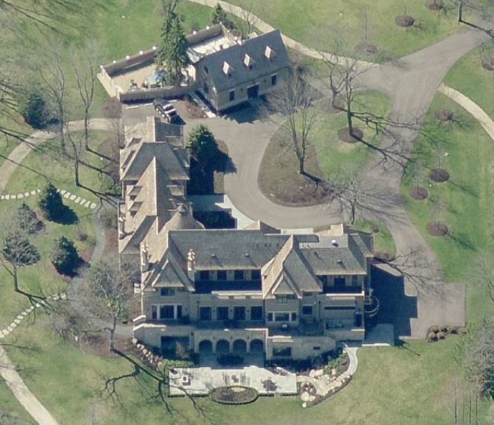 15 9 million 20 000 square foot french country mansion in for 20 000 square foot home plans