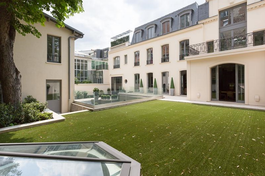 11 000 Square Foot Renovated Mansion In Paris France