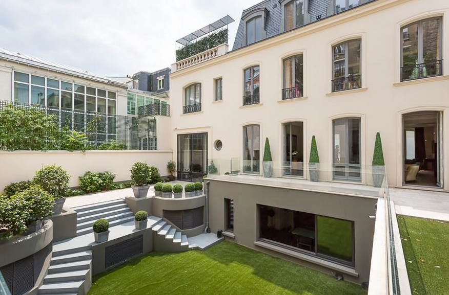 11,000 Square Foot Renovated Mansion In Paris, France