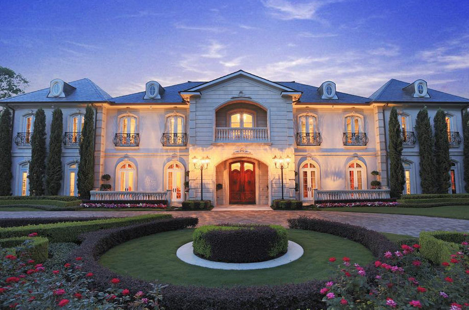 16 000 Square Foot Ornate French Inspired Mansion In