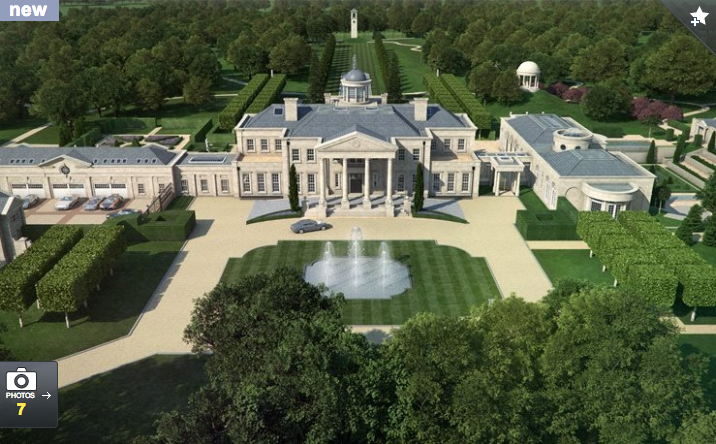 Proposed 42 000 Square Foot Estate In Surrey England
