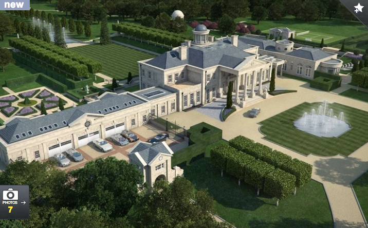 Proposed 42,000 Square Foot Estate In Surrey, England