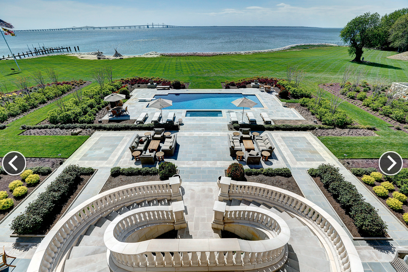 34 5 Million 23 000 Square Foot Waterfront Mansion In