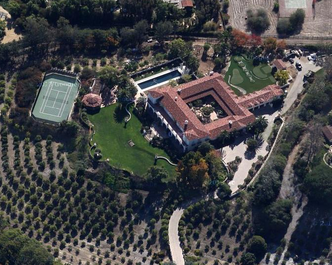 El Milagro – A 21,000 Square Foot Spanish Style Estate In Rancho Santa Fe, CA