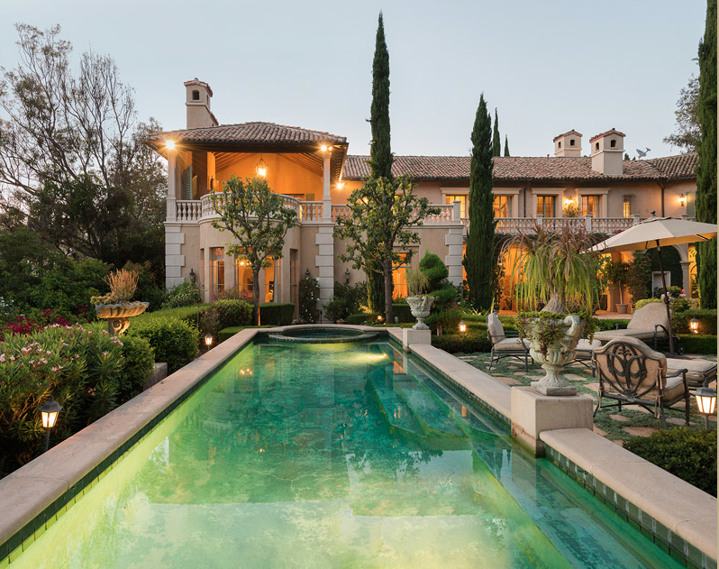 $15.5 Million Italian Inspired Mansion In Bel Air, CA